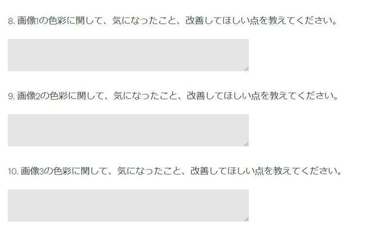 調査票の例 (2)